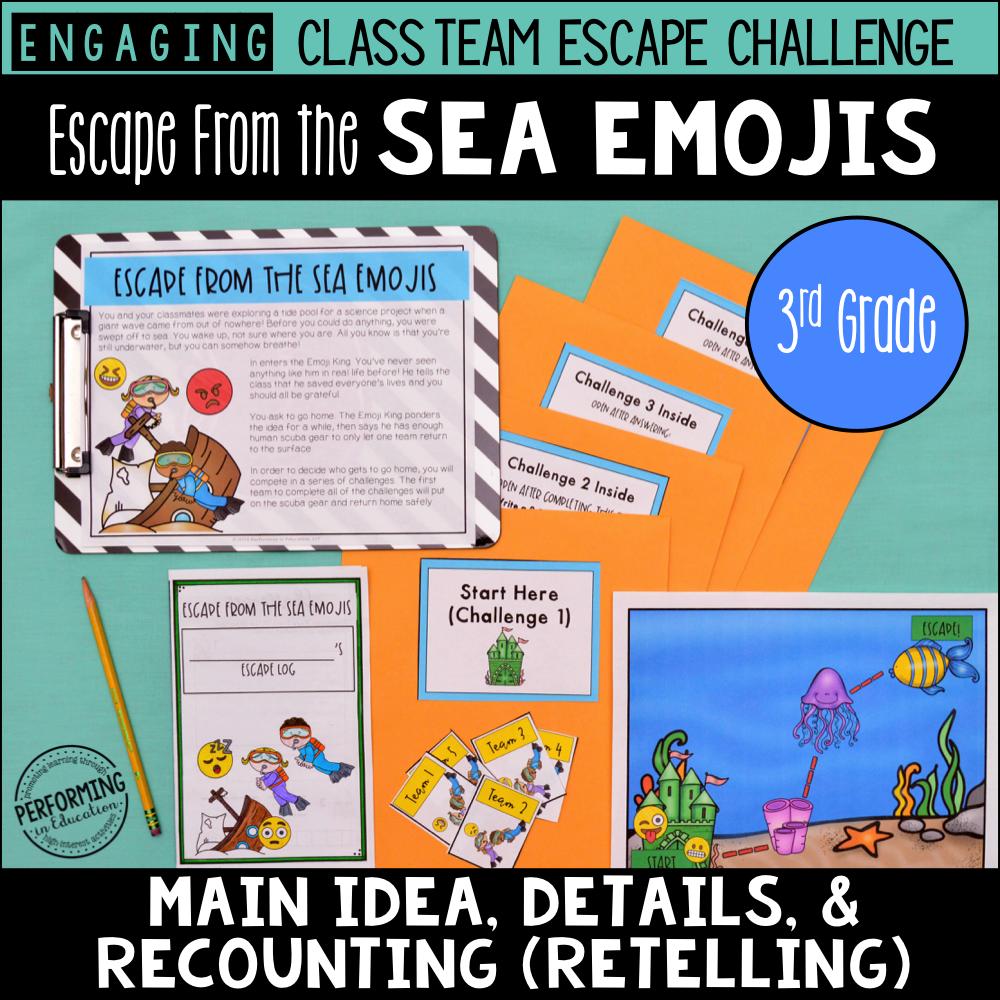3rd Grade Main Idea
