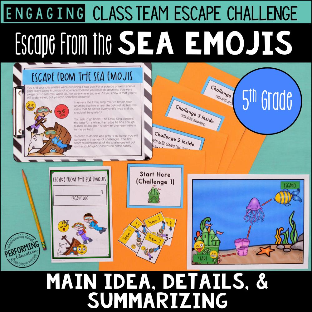 5th Grade Main Idea