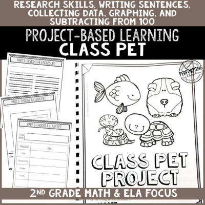 2nd Grade Project-Based Learning: Class Pet Project