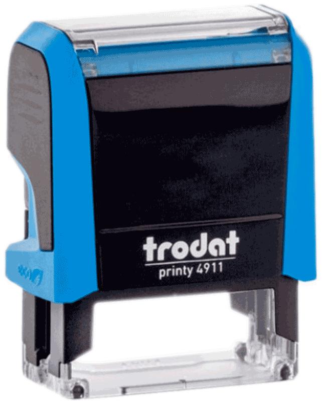 Штамп автоматический Trodat 4911 38х14 мм