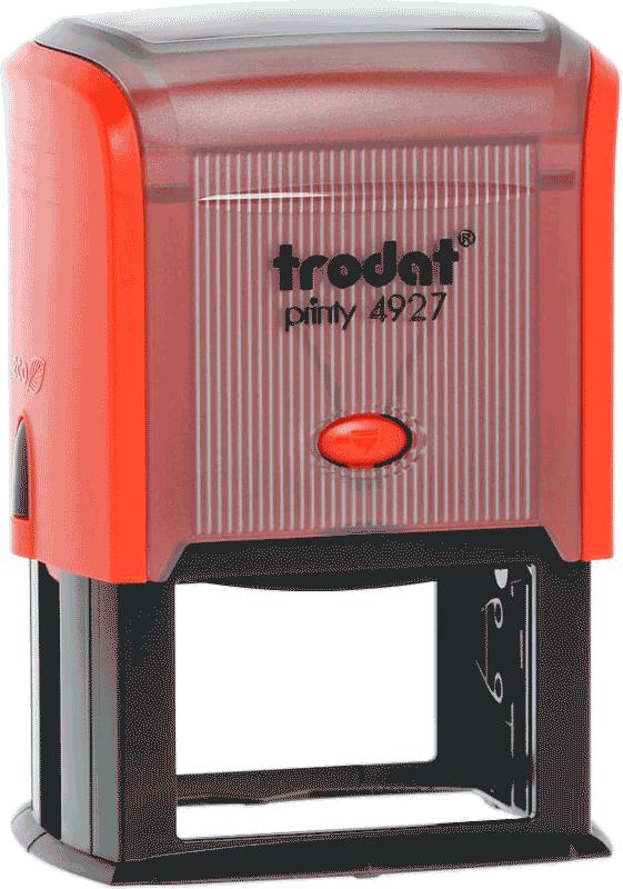 Факсимиле на прямоугольной автоматической оснастке Trodat