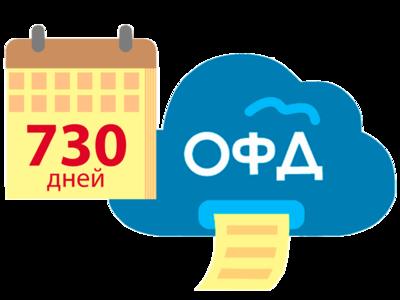 Код активации ОФД на 2 года