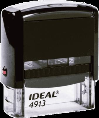 Штамп автоматический Ideal 4913 58х22 мм