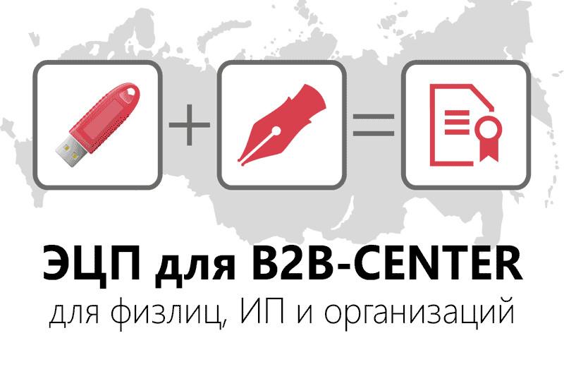 ЭЦП для B2B-CENTER