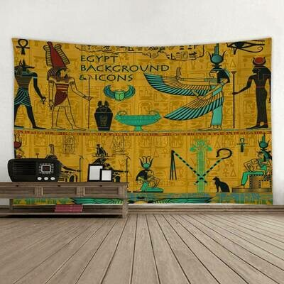 Egyptian Wall Tapestry (Design #24)