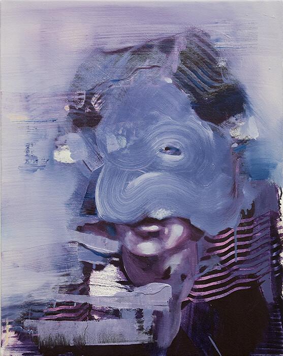 Repercussion I, oil on canvas   Bartosz Beda   Original Artwork
