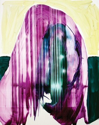 Meta Color 02, acrylic on Yupo paper | Bartosz Beda | Paintings