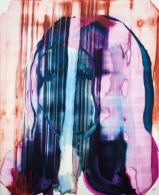 Meta Color 06, acrylic on Yupo paper | Bartosz Beda | Paintings