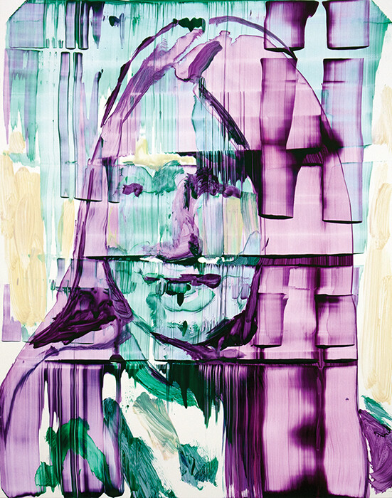 Meta Color 01, acrylic on Yupo paper   Bartosz Beda   Painting