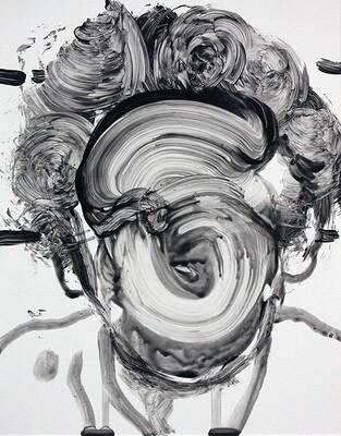 Meta Tag Project 18 | Original Painting | Bartosz Beda