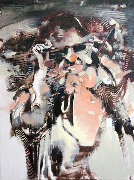 Goggle Woman II | Painting | Artworks | Bartosz Beda