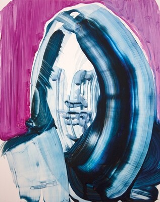 Meta Color 05, acrylic on Yupo paper | Bartosz Beda | Painting
