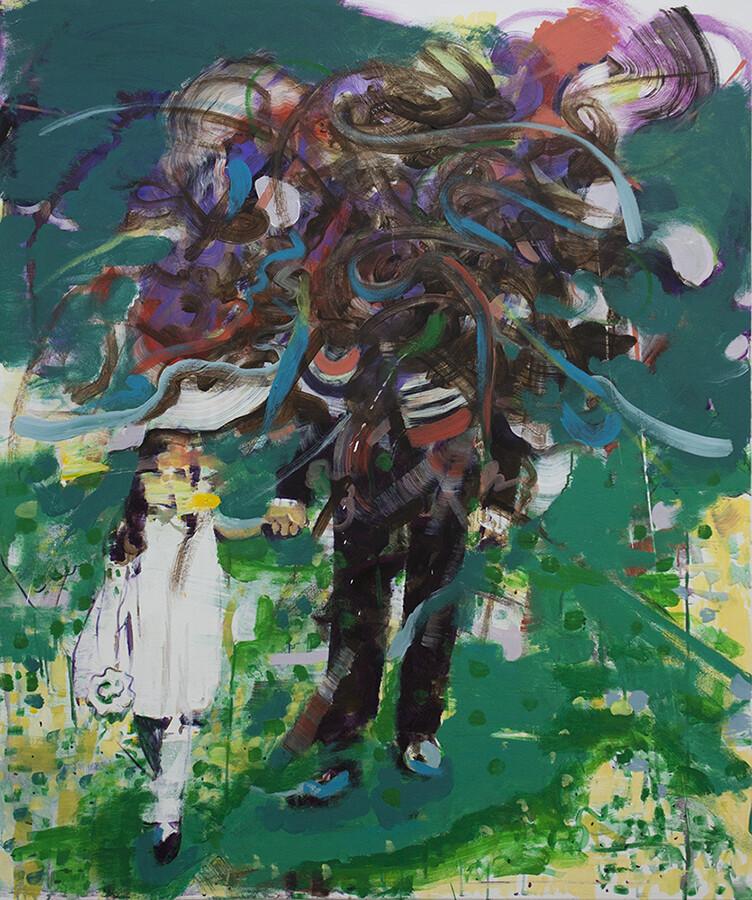 Duality I, oil on canvas | Original Artwork | Painting | Bartosz Beda
