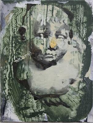 Portrait for Interior, oil on canvas | Original Artwork | Painting | Bartosz Beda