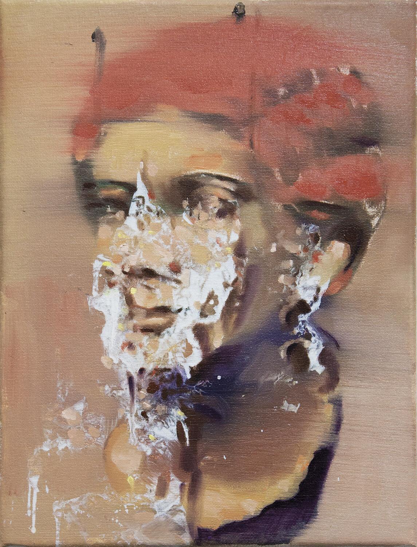Marble - Portrait of Woman   Original Artwork   Painting in Oils