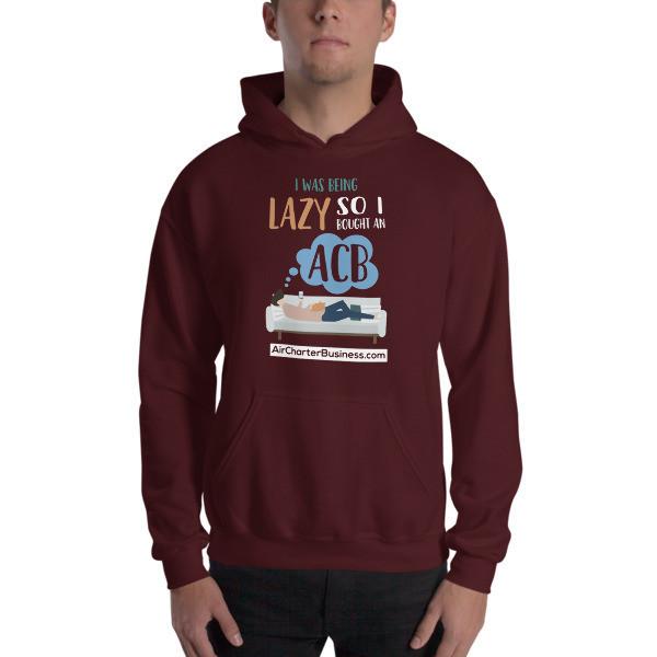 Being Lazy Hooded Sweatshirt