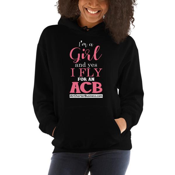 A Girl Hooded Sweatshirt