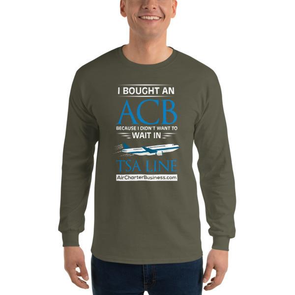 No Wait Long Sleeve T-Shirt
