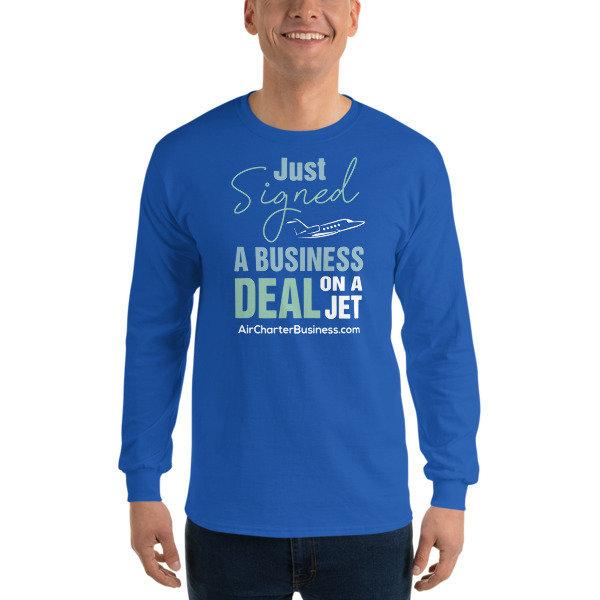 Business Deal Long Sleeve T-Shirt