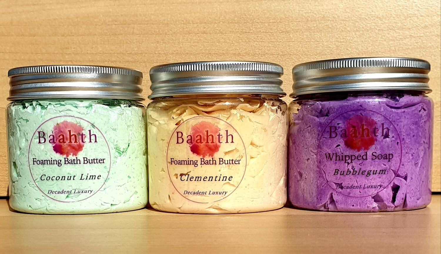 Foaming Bath Butter
