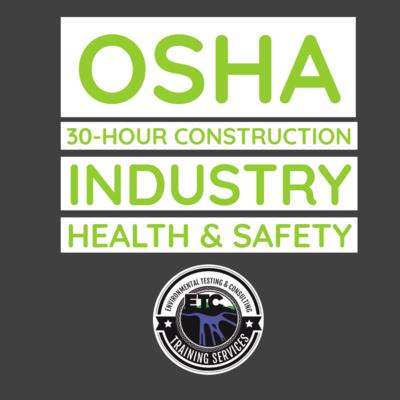 OSHA 30-Hour Construction Industry Health & Safety