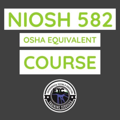 NIOSH 582 Equivalent course