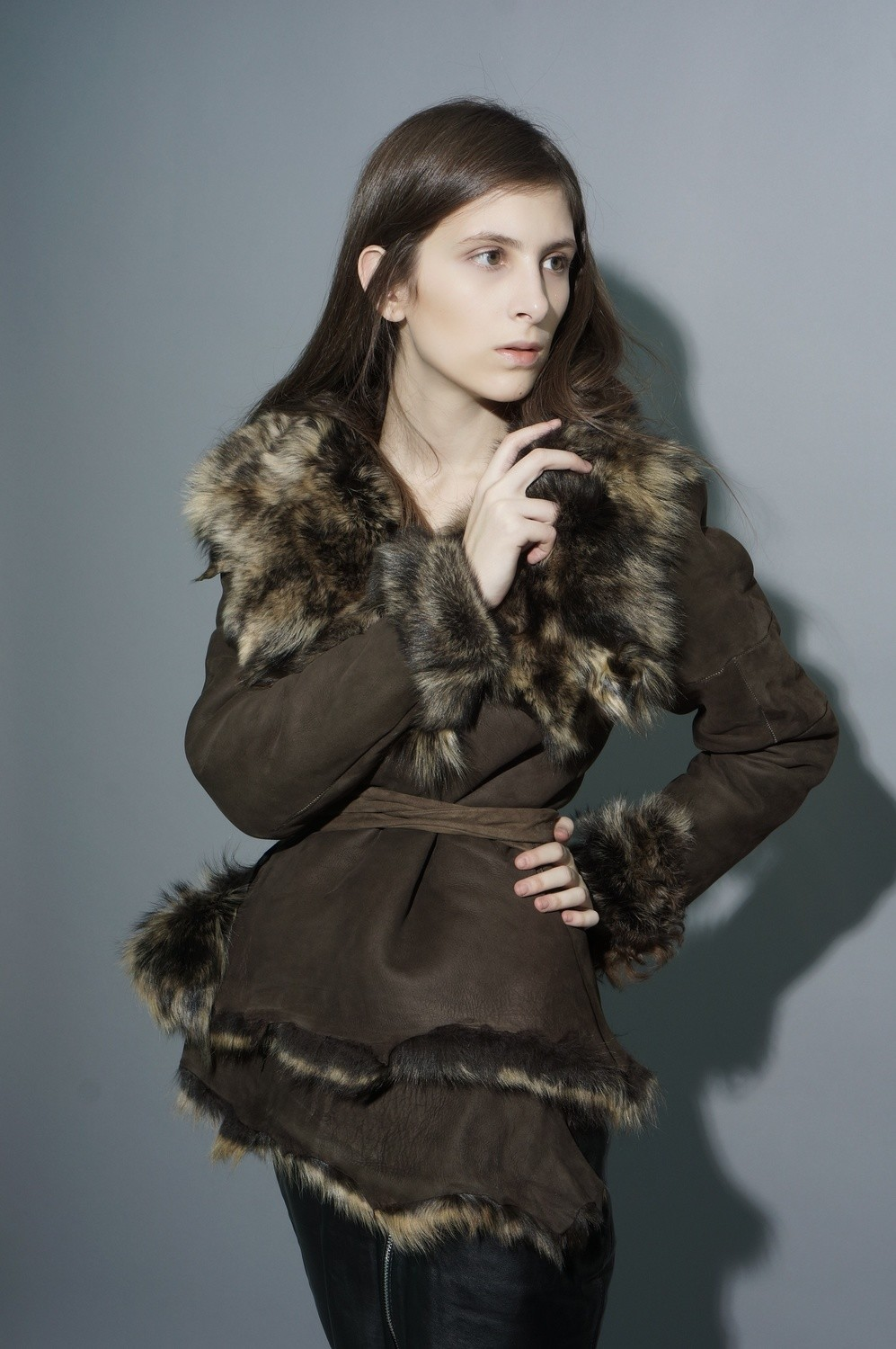 Examples of sheepskin coats and coats