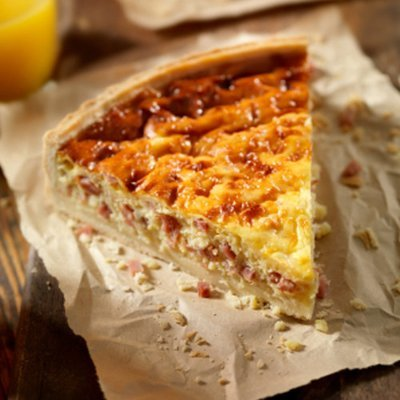 Quiche - With Side Salad