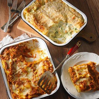 Lasagna - With Side Salad