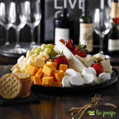 Cheese and Grapes Platter