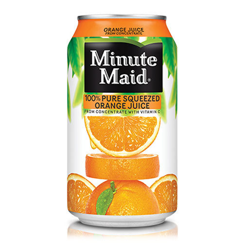 Minute Maid Orange Juice Can