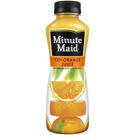 Minute Maid Orange Juice Bottle