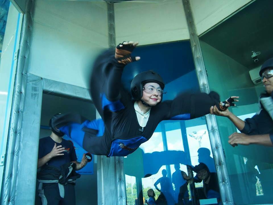 FIRST TIMER 包含2次跳伞体验 (140cm以下) EasyFly (Kid)