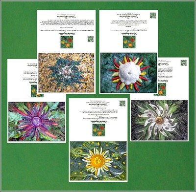 Celestial Vegetable Greeting Cards Set # 1