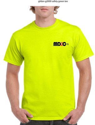 Safety Green Tee