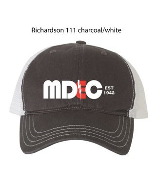 Richardson Gray/White (Non-Structured) -One Size