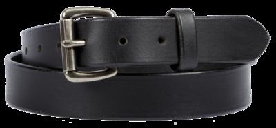 Buffalo Leather Belt, Black