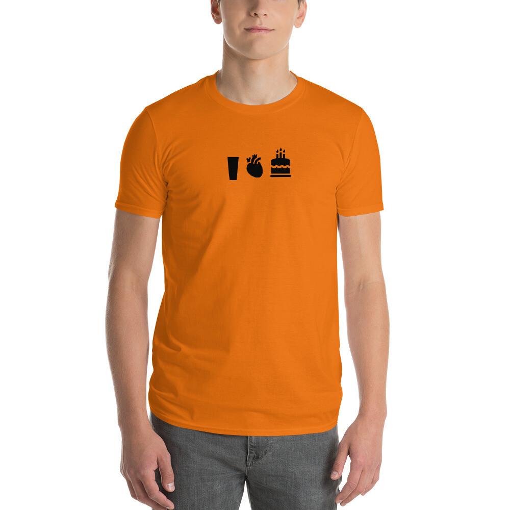 """I heart cake""  Short-Sleeve T-Shirt"