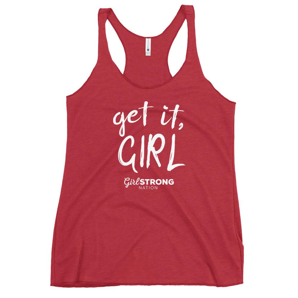 Get it Girl! Vintage Red