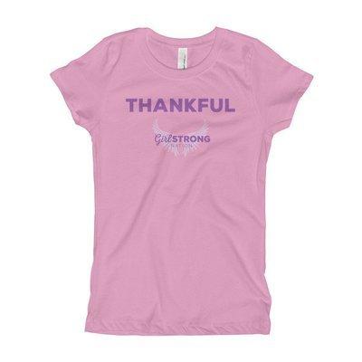 Thankful Girl's Princess Tee
