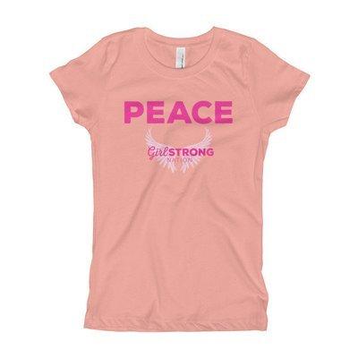 Peace  Girl's Princess Tee