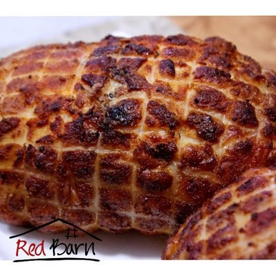 Whole De-boned Chicken Stuffed with Bacon Sausage