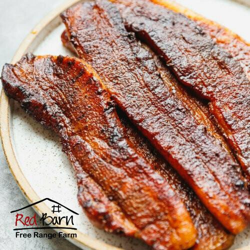 Pork Rashers/Strips PLAIN - Free Range approx 500-600g