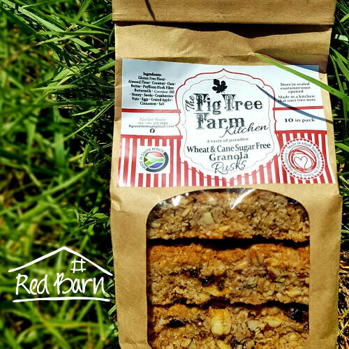 Rusks - Wheat & Cane Sugar Free 300g
