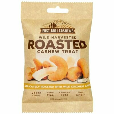 CASHEWS ROASTED with Coconut chips 35g
