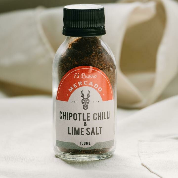 Chipotle Chilli and Lime Salt 100g