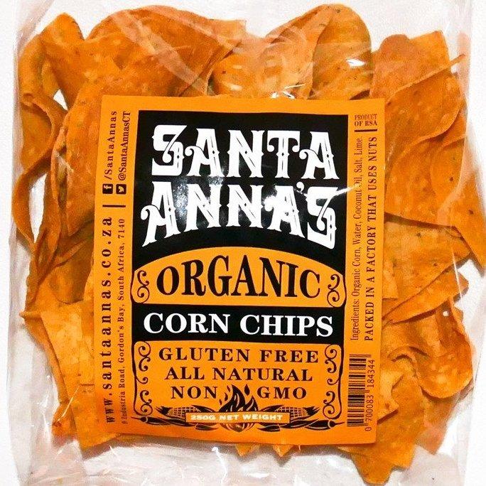 Corn Chips Organic 250g Family Bag