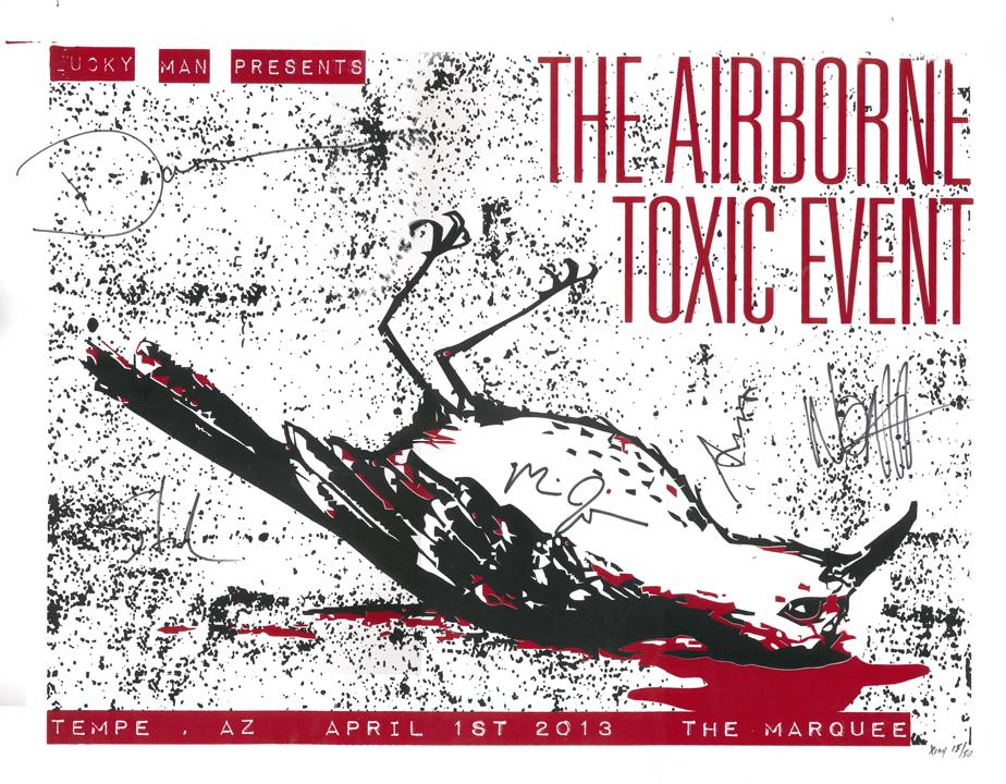 April 1, 2013 Limited Edition Tempe, AZ Poster