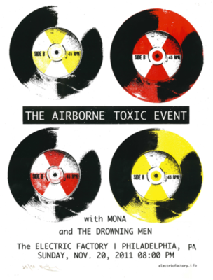 Electiric Factory Philadelphia Show Poster (Limited Editon of 50)
