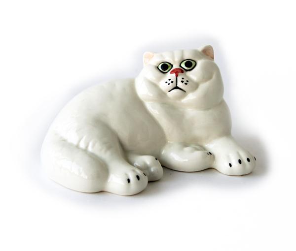 """Статуэтка фарфоровая """"Британская кошка"""""""
